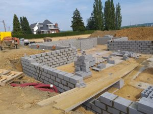 Consultez nos Services Vide ventilé en blocs béton pour 4 logements à Jemeppe-sur-Sambre